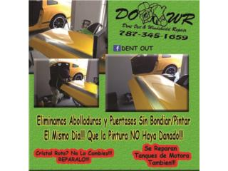 Dent Repair Puerto Rico Puerto Rico  Dent Out Puerto Rico (Paintless Dents Repair)