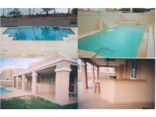 Puerto rico servicios autosconst y remod piscinas for Casas con piscina para alquilar en puerto rico