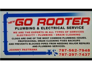 GENERAL PLUMBING,ELECTRIC & HANDYMAN Puerto Rico GO ROOTER PLUMBING & ELECTRICAL SERVICE