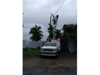 Electricpropr Aquiler Bucket Truck 787-635-5657 Puerto Rico General Electrical Repair Service