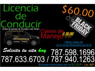 Examen de Conducir BLACK FRIDAY Puerto Rico Charie's Driving School