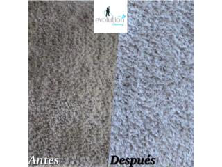 LIMPIEZA DE ALFOMBRAS Puerto Rico EVOLUTION CLEANING INC.