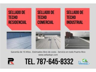 SELLADO DE TECHO Puerto Rico POWER ROOFING SOLUTIONS