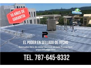 SELLADO DE TECHO - MEMBRANAS Puerto Rico POWER ROOFING SOLUTIONS