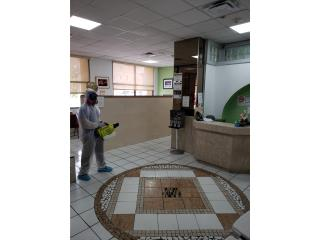 DESINFECTACIÓN Y SANITACIÓN Puerto Rico EVOLUTION CLEANING INC.