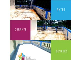 Roof sealing guaranteed for life Puerto Rico S&S Property Services