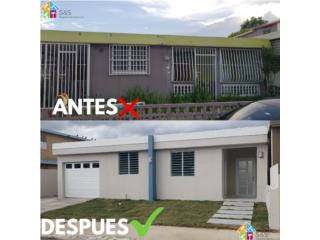 All types of constructions Puerto Rico S&S Property Services