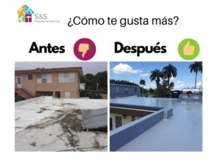 Roof waterproofing Puerto Rico S&S Property Services