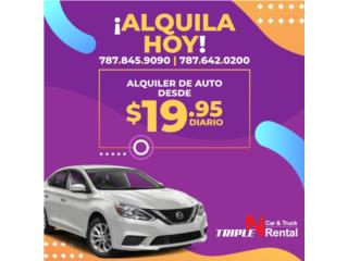 Renta de autos , guaguas y Pick-up Puerto Rico TRIPLE N MOTOR AND CAR RENTAL
