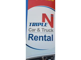 Alquiler de Autos , camiones, van Puerto Rico TRIPLE N MOTOR AND CAR RENTAL